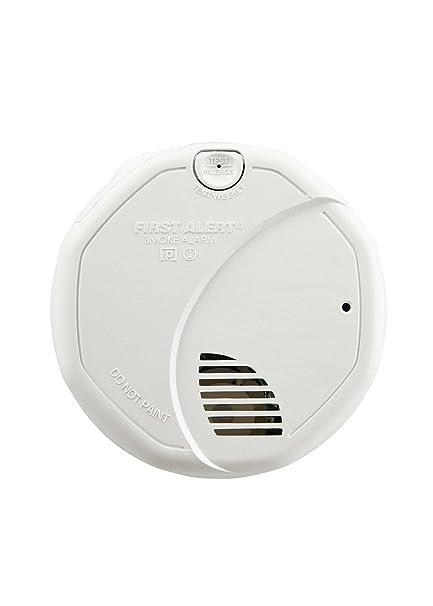 First Alert BRK 3120B Alarma de humo de conexión directa con sensor dual fotoeléctrico y de