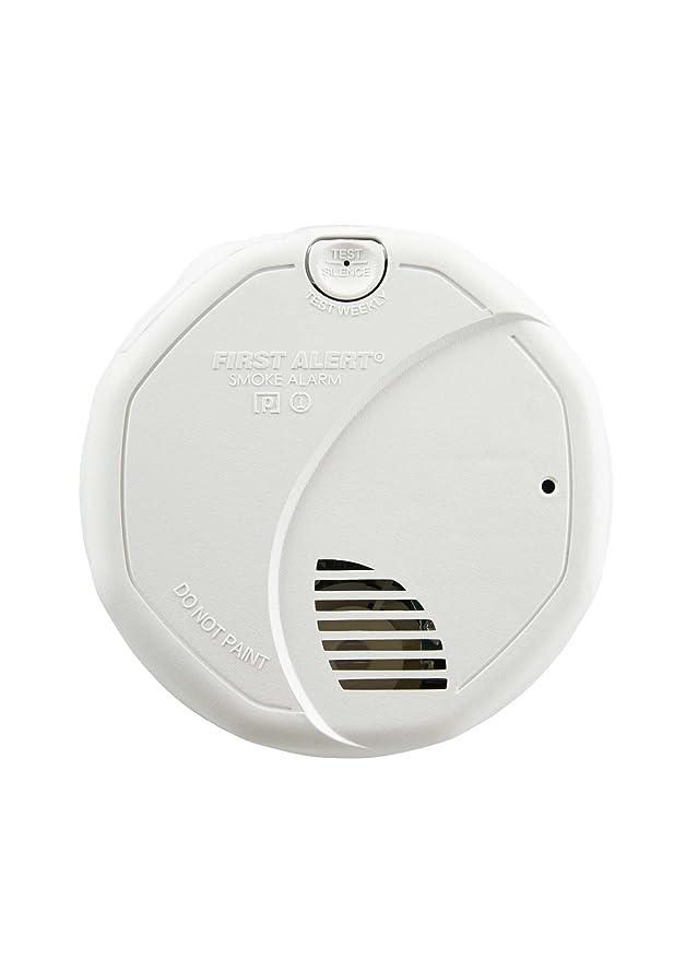 amazon com first alert brk 3120b hardwire dual photoelectric and rh amazon com Firex Smoke Alarm GE Security Alarm Keypad Manual