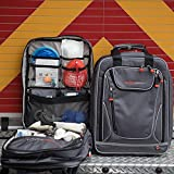 The Shield -Medical Backpack, First aid, Emergency Response Small Trauma Bag, EMT, Paramedic, Nurse, Black, Grey
