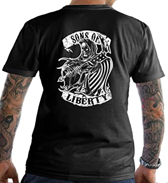 Long Sleeve Shirt Liberty or Death Sons Of Liberty Three Percent