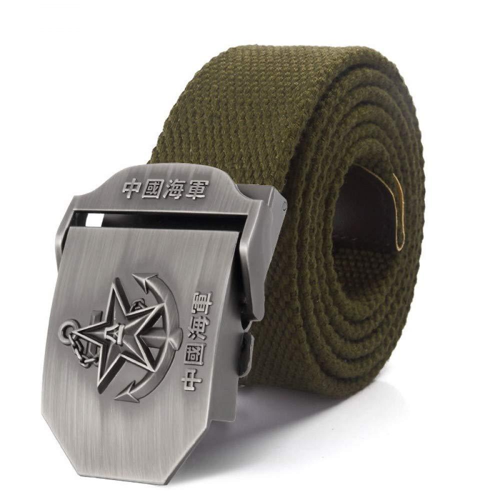 LLZGPZPD Cinturón De Lona Cinturón De Lona Chino Navy 3D Star Hebilla De  Cinturón De Aleación 3912afdc5e70