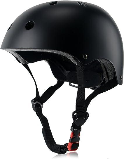 Light Weight and Multi-Sport for Toddler and Children Ouwoer Adjustable Kids Bike Helmet