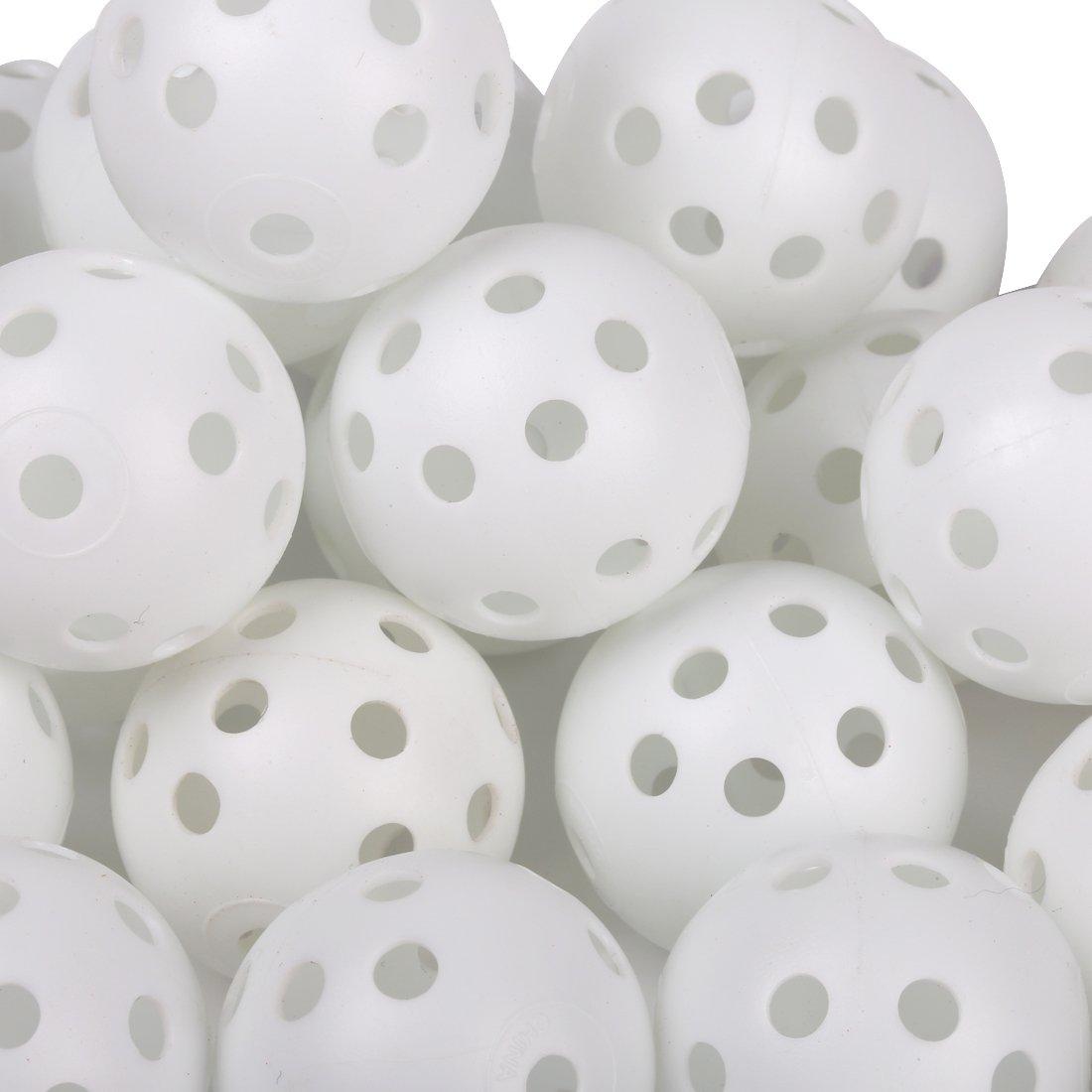Anduxゴルフ練習プラスチックボール40ホワイトKXQ   B00GZIWGM6