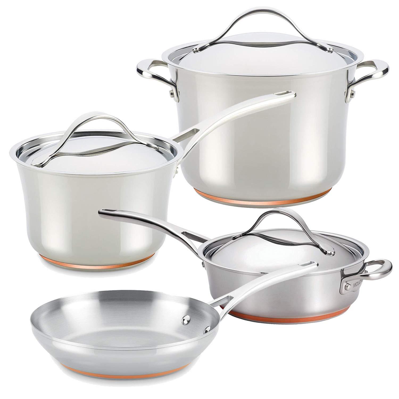 Amazon.com: Anolon Nouvelle - Juego de utensilios de cocina ...