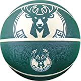 "NBA Milwaukee Bucks Spaldingteam Logo, Green, 29.5"""