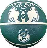 NBA Milwaukee Bucks Spaldingteam Logo, Green, 29.5''