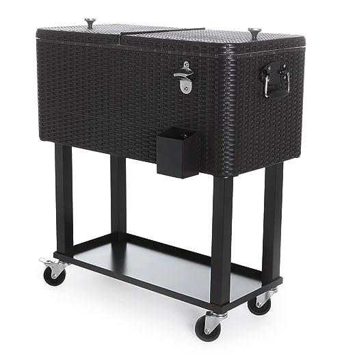 Odthelda Free Cover Cooler - Nevera portátil de 80 quarts, para ...