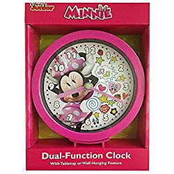 Disney DS40218 Minnie Mouse 6 Desk/Wall Clock