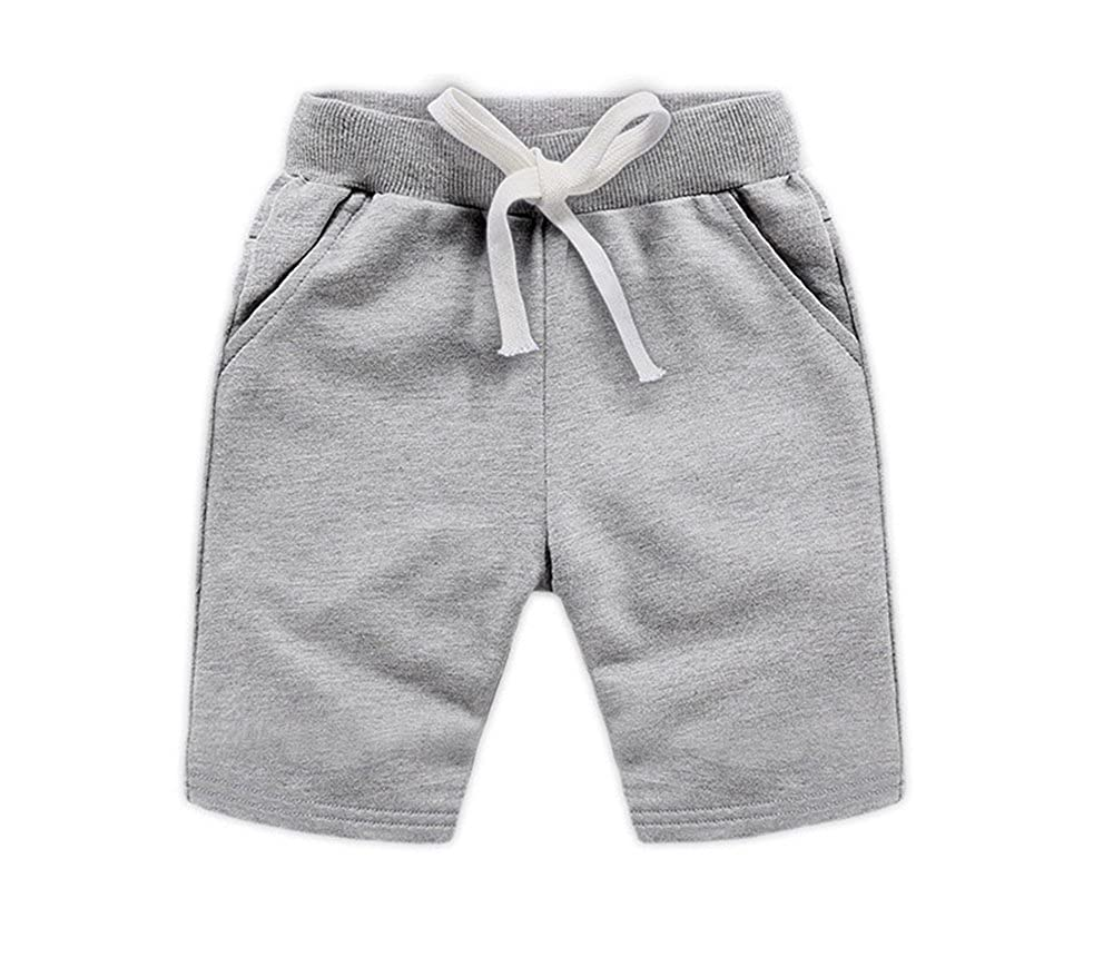 Pantaloncini bambino abbigliamento sportivo estivo pantaloncini per bambini pantaloncini cravatta tinta unita