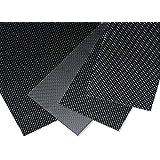 Zyhobby 200mmX250mmX0.3mm 100% Carbon Fiber plate panel sheet 3K plain Weave Glossy