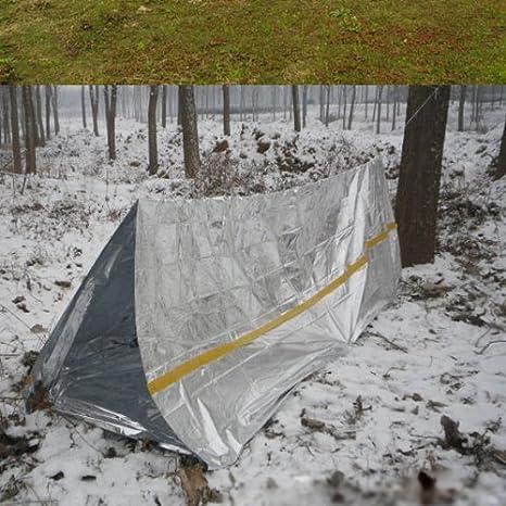 Tienda de campa/ña para emergencias de Chenhan para camping refugio supervivencia y deportes al aire libre