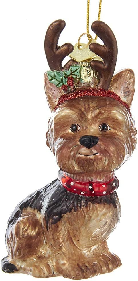 Yorkshire Terrier Stocking Ornament