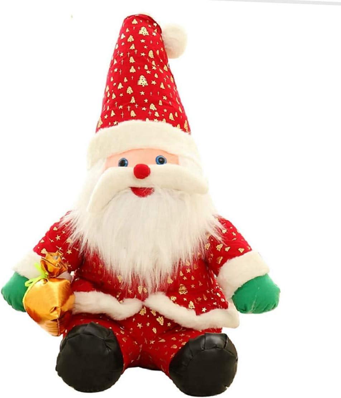 Naughty baby Santa Claus Muñeco De Peluche Muñeca Muñeca Regalo De Navidad Adornos Para Enviar Regalos De Navidad A Las Niñas, 130Cm.
