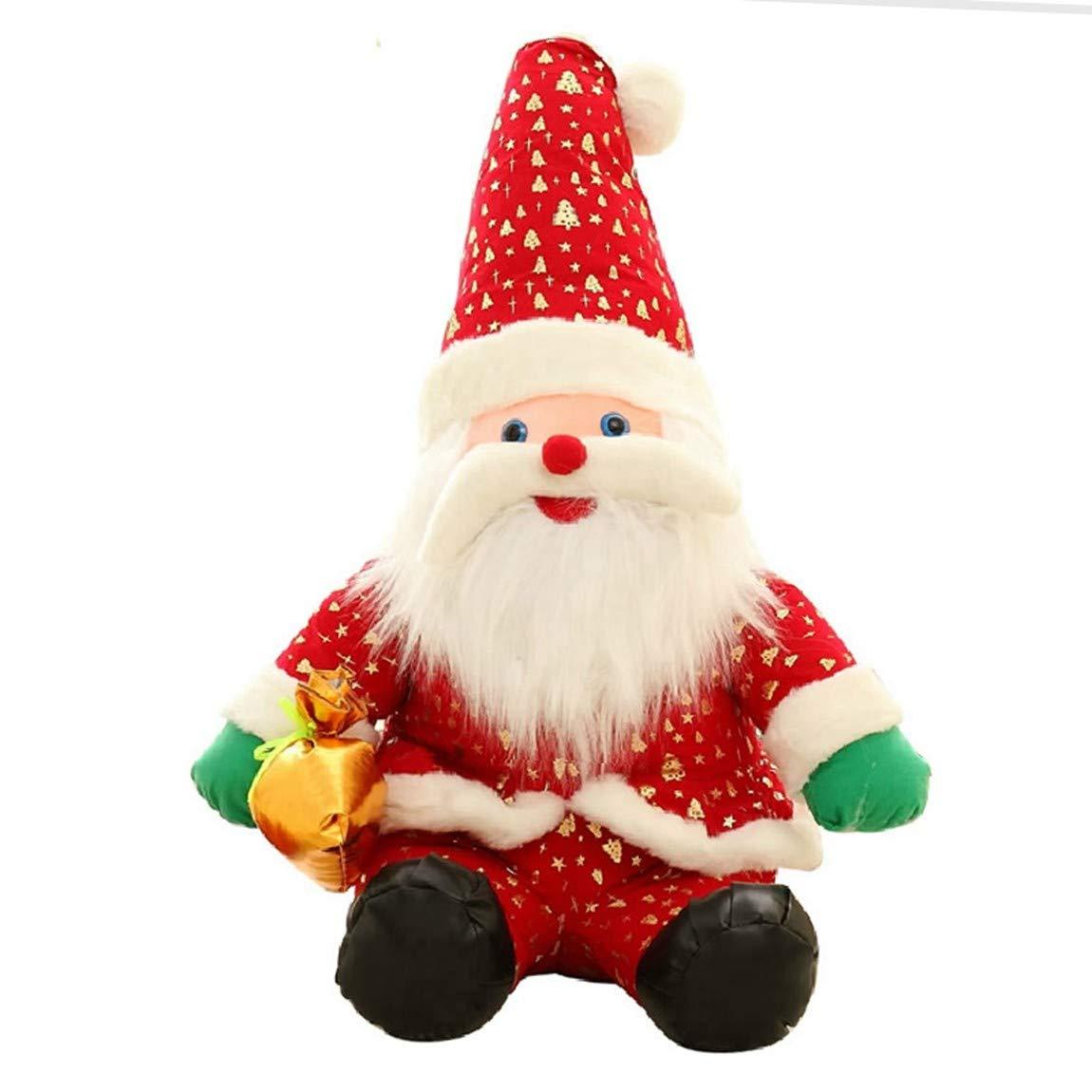 Naughty baby Santa Claus Doll Puppe Plüsch Spielzeug Weihnachten Geschenk Puppe Ornamente Mädchen Weihnachtsgeschenke Zu Senden, 20 Cm B07K6KTCHD Stoffspielzeug Guter Markt | Modern Und Elegant In Der Mode
