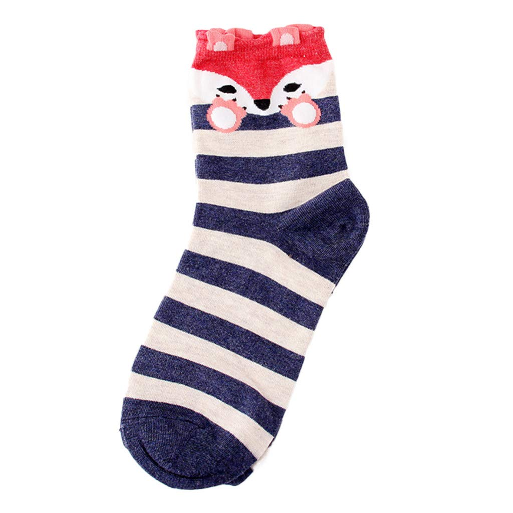 Womens Socks Cactus Crew Socks Gifts Cotton Long Funny Socks Novelty Funky Cute Cartoon Socks