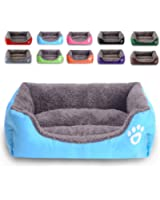REXSONN Modern Ultra Soft Warm Pet Bed Puppy Dog Mat Pad Cat Sleeping Cushion Suits for Daily Use - M