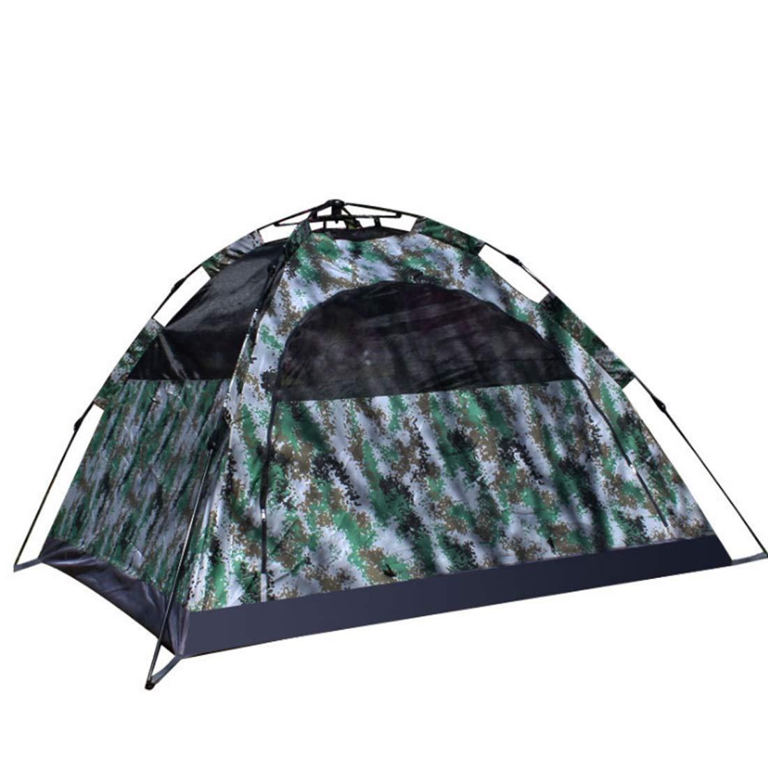 Ploekgda 3 Personen oder 4 Personen Camouflage Zelt Wild Activity Zelt (Farbe   Camouflage)