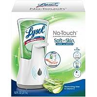 Lysol No-Touch Hand Soap Kit (Gadget + 1 Refill) (Moisturizing Aloe & Vitamin E)