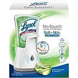 Lysol No-Touch Hand Soap Kit (Gadget + 1 Refill), Moisturizing Aloe & Vitamin E, 1ct
