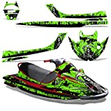 Kawasaki STX1100 Sport Tourer 1997-1999 Decal Graphic Kit Jet Ski Wrap STX 1100 REAPER GREEN
