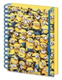 Close Up Despicable Me 3D Notebook DIN A5 Many Minions