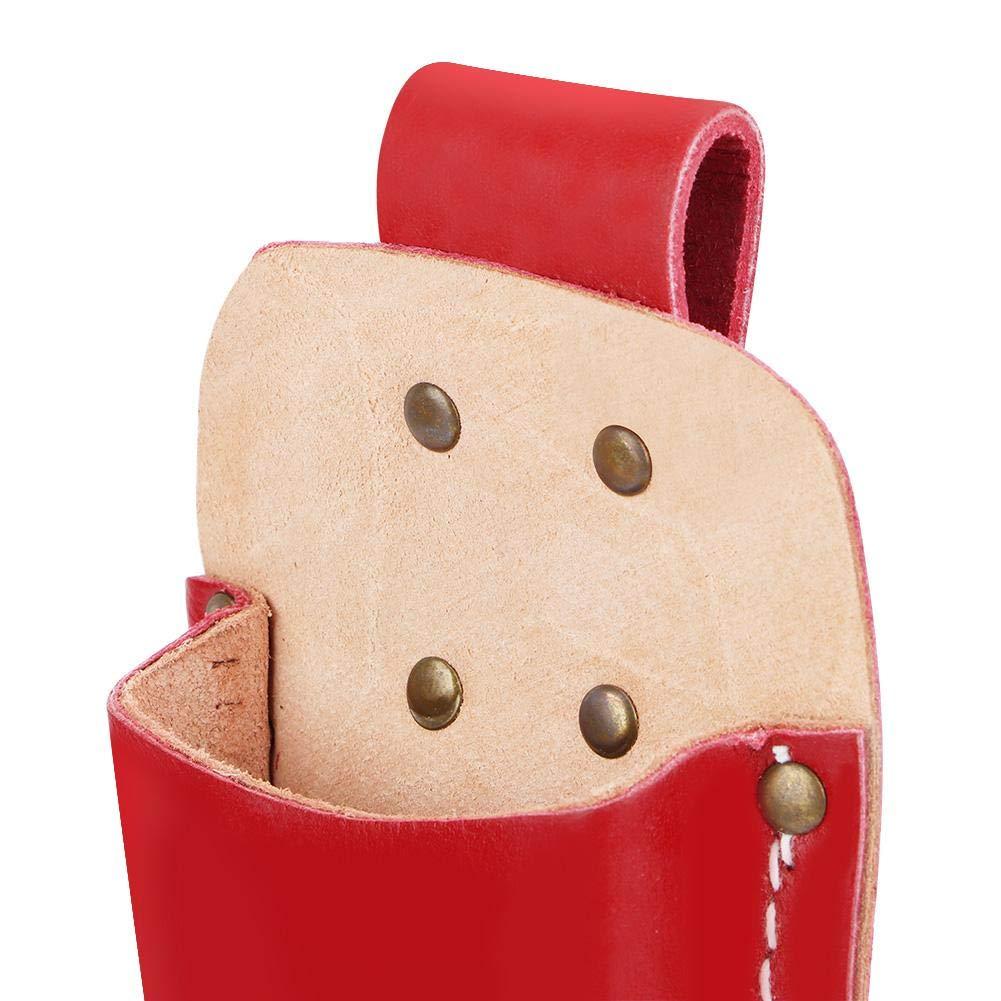 cisailles /à /élaguer pochette pour /élagage /étui en cuir /étui /à outils en cuir pour /étui de ceinture sac de rangement pour pinces /Étui pour /élagueur 棕色