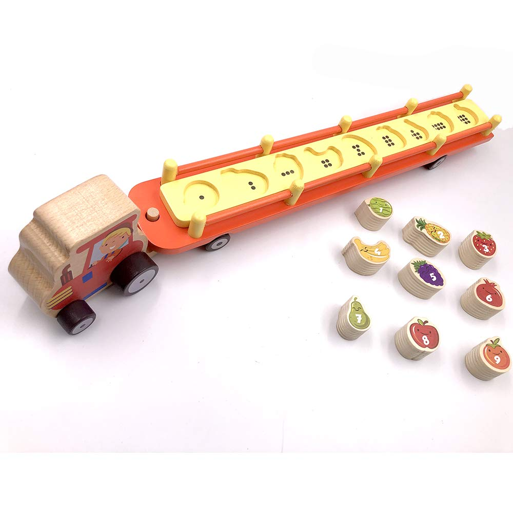 BeeLearners Farmers Number Fruit Tractor