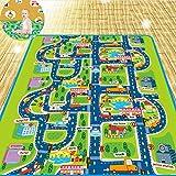 GREENITEM Kid Rug Play Mat Cushion Extra Large Soft Carpet for Infants Ba