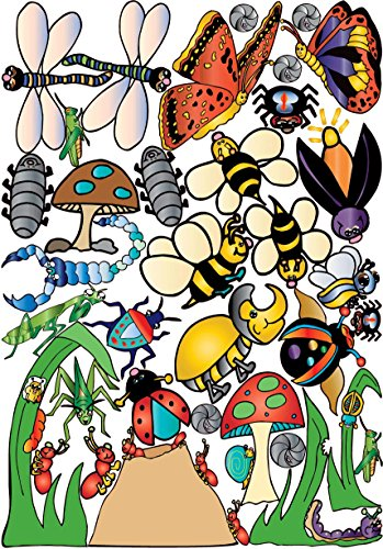 - Bugs and Insect Wall Stickers Decals