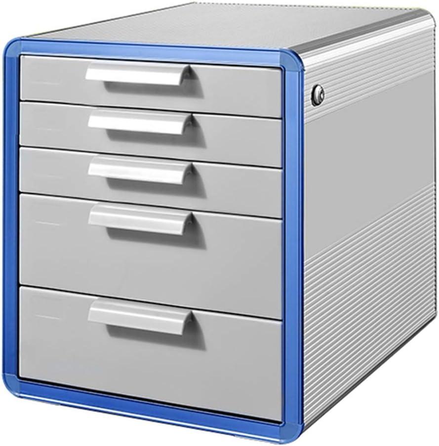 File Cabinets Lockable Data Office Storage Drawer Confidentiality Desktop Organizer Lock Door Design Durable Plastics Pp Plastic 29.5X39.4X21.8CM,29.5X39.4X43CM Home Office Furniture