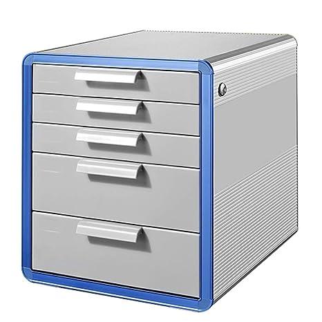 Archivador archivador de Escritorio archivador con Caja de archivador de cajón de Almacenamiento de Datos de