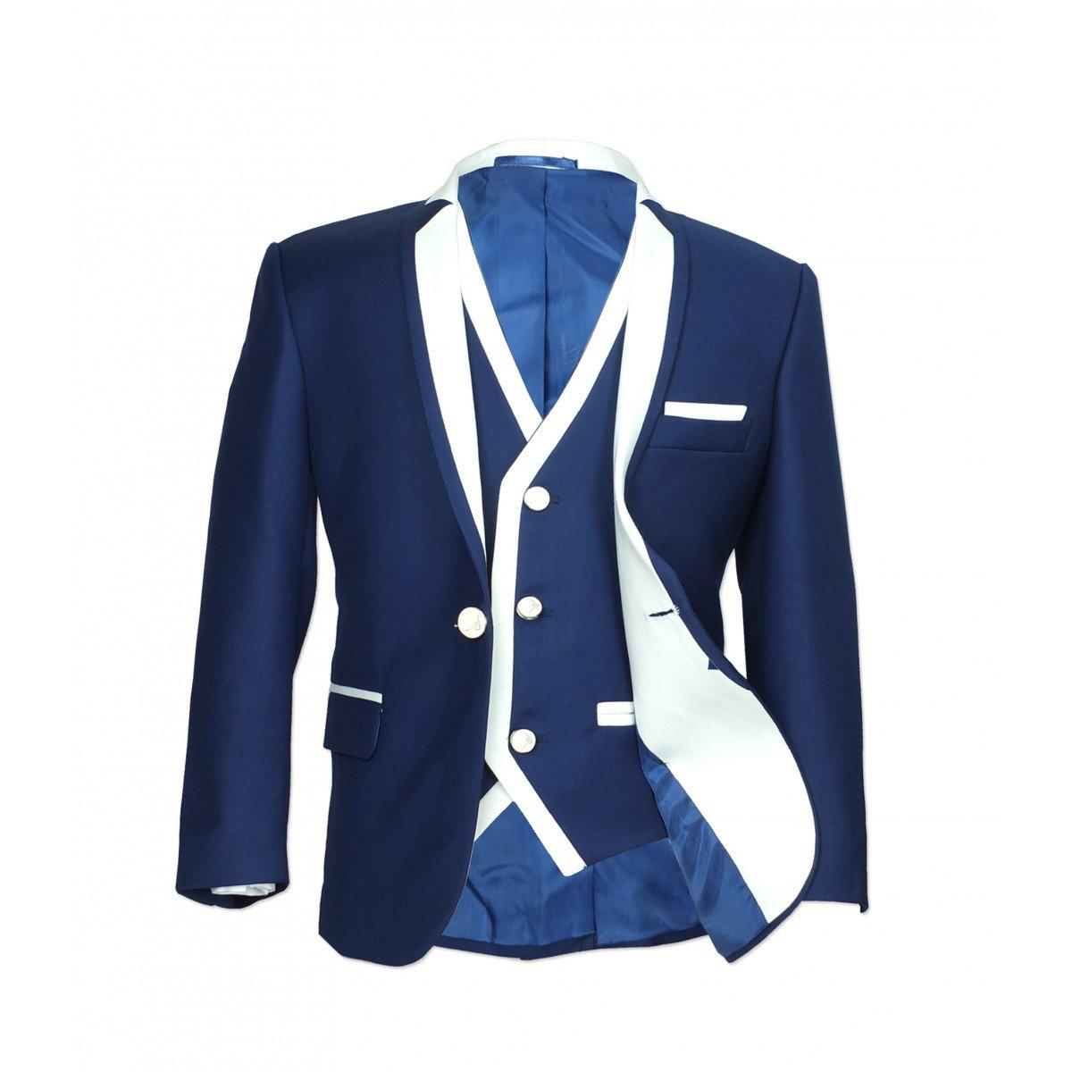 Exclusive Boys Single Button Suit Boys Communion Wedding Occasion Suits Kids Party Suit