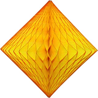 product image for 3-Pack 12 Inch Gold Honeycomb Diamond Decorations