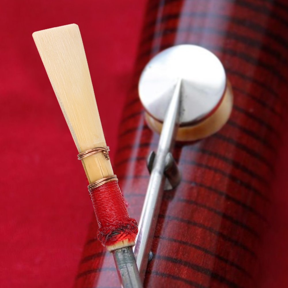 Bassoon Reeds Reed 5 Pcs Bassoon Reeds Medium With Case/Tube Good Quality Instrument Accessories by Vbestlife