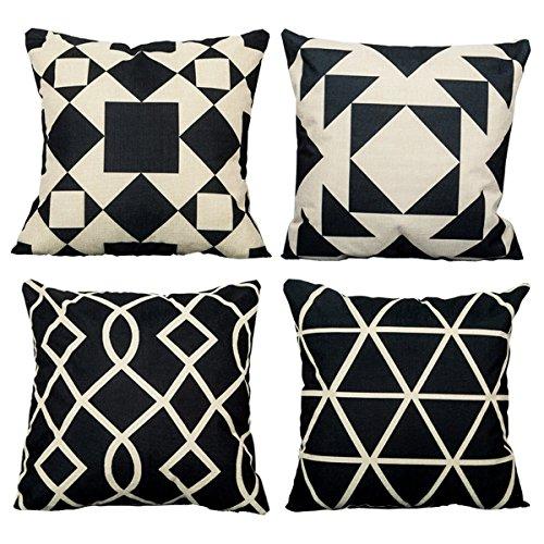 Tosnail Cotton Square Decorative Cushion