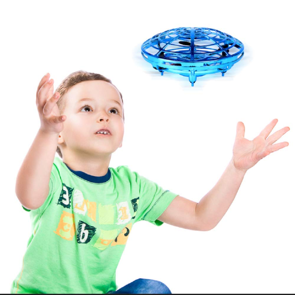 Wandeson Flying Ball Infrared Sensor Interactive UFO Toy Intelligence Sensor Aircraft Flying Toy for Children by Wandeson (Image #1)
