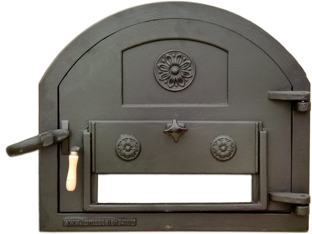 Puerta de fundición para Horno de leña (Peso: 22 Kg)