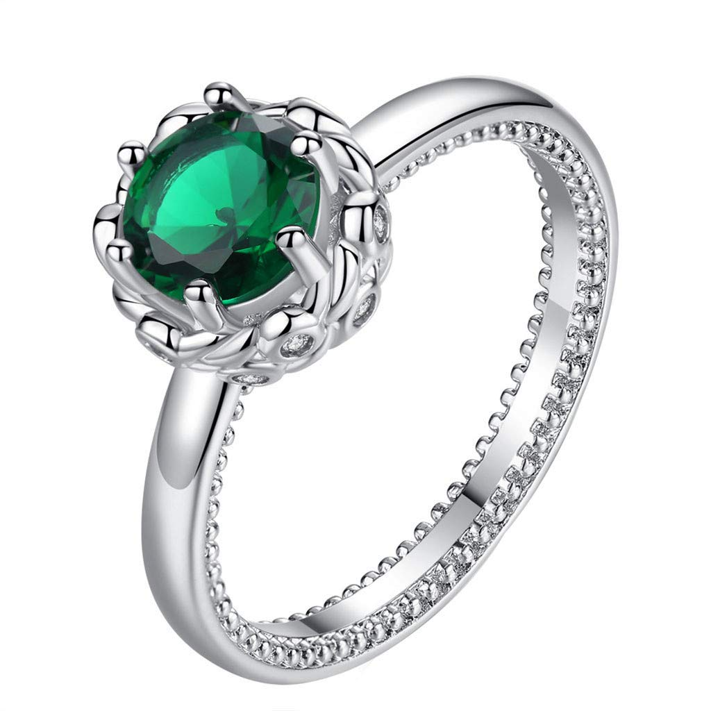 Coco-Z New Women Simple Couple Ring Creative Flower Ring Jewelry, Overseas Import Products Specialty Store