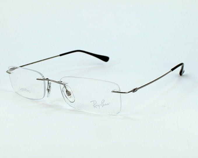Ray-Ban Glasses Ray Ban frame RX 8679 RX8679 1127 Titanium Silver ...