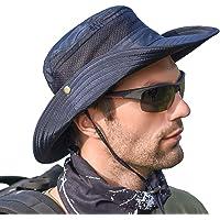 SIYWINA Hombres Sombrero de Pescador Verano Protección UV
