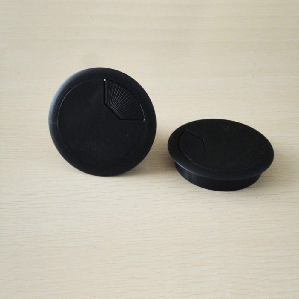 Toruiwa passacavo Deposito Di Cavi in Plastica per tavolo scrivania 6pcs