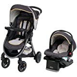 Graco FastAction Fold Travel System | Includes FastAction Fold Stroller and SnugRide 35 Infant Car Seat