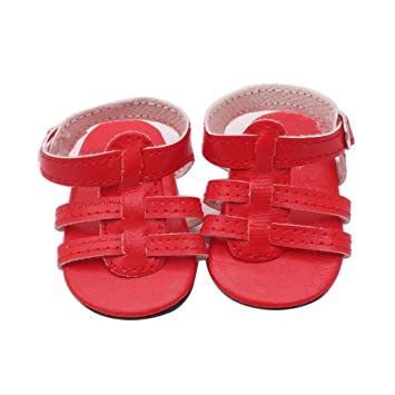 Doll Cool Fashion Doll Shoes Dress Sandals For 18 Inch Our Generation Doll