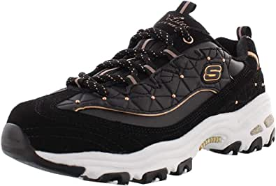Skechers D'lites-Floral Days 13082, Zapatillas Mujer