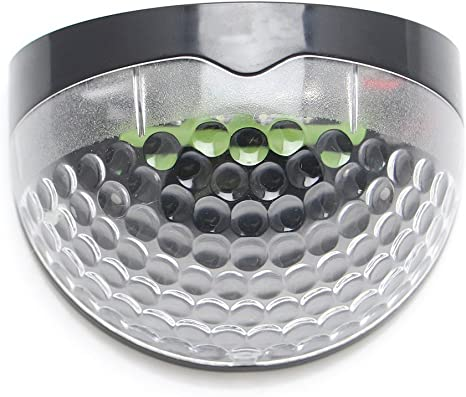 Luminado Led solar Lámpara Aplique Externo Luz de Energia para patio jadin (negro): Amazon.es: Iluminación