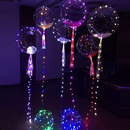 1 Pack Worm White LED Night Lights Bubble Balloons Christmas Light Fairy  Baby Lamp Reliable Fashionable - 1 Pack Worm White LED Night Lights Bubble Balloons Christmas Light