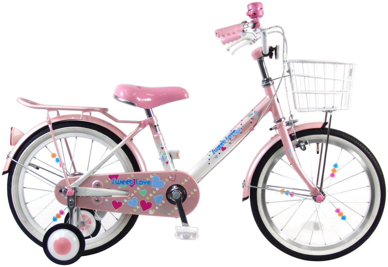 C.Dream(シードリーム) スイートラブ SW61 16インチ 幼児自転車 ピンク/ホワイト 100%組立済み発送 B017SVZTUY
