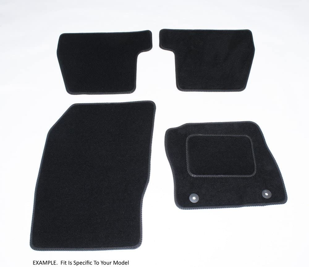Connected Essentials 5021530 Grey with Grey Trim Tailored Heavy Duty Custom Fit Car Mats Vauxhall Agila 2000-2007