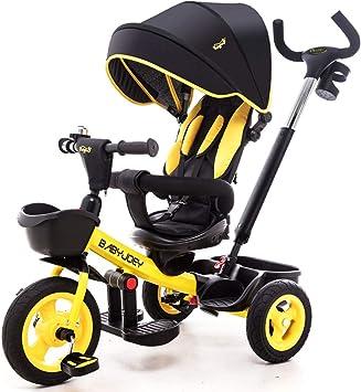 Bebé Niños Niños Triciclo, Paseo en Buggy en 3 Ruedas Paseo en ...