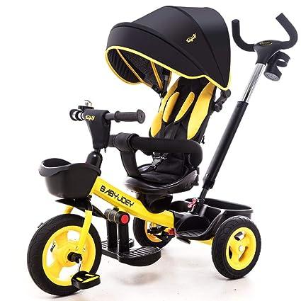 Bebé Niños Niños Triciclo, Paseo en Buggy en 3 Ruedas Paseo ...